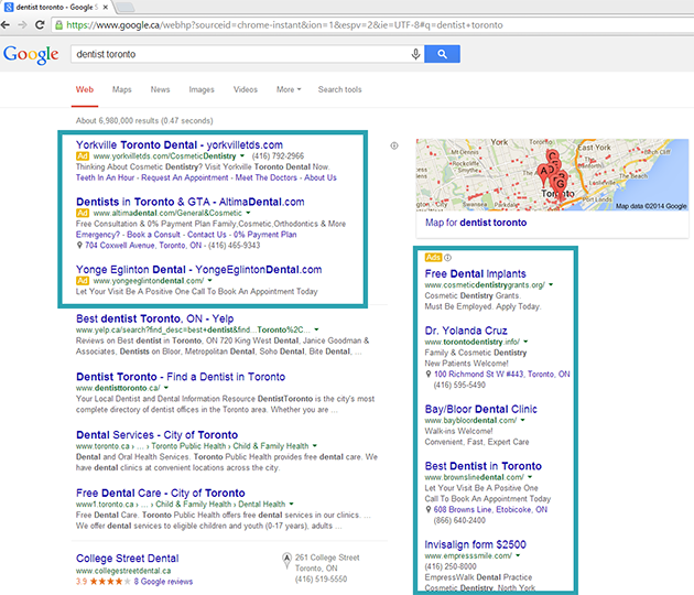 search advertising google
